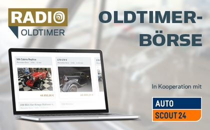 Oldtimerbörse in Kooperation mit AutoScout24