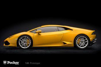 Modellfahrzeug des Jahres 2017: Lamborghini Huracán (1:8) von Pocher. Foto: Auto-Medienportal.Net/Delius-Klasing-Verlag