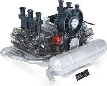 Modellfahrzeug des Jahres 2017: Der Innovationspreis ging an den Franzis-Verlag für den Bausatz eines Porsche-911-Motors von 1966 im Maßstab 1:4. Foto: Auto-Medienportal.Net/Delius-Klasing-Verlag