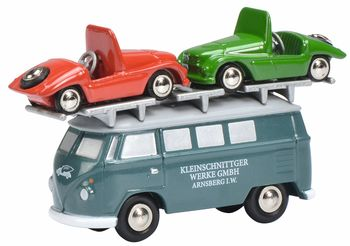 """Modellfahrzeug des Jahres 2017: VW T1 """"Kleinschnittger"""" (1:87) von Schuco. Foto: Auto-Medienportal.Net/Delius-Klasing-Verlag"""