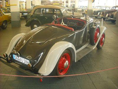 Ganz seltenes Stück: Moonlight Roadster, von 1932 bis 1933 gebaut