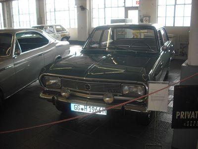 Weltmeister-Auto: Rekord B 1900, das letzte neu gekaufte Auto von Fußball-Weltmeister-Trainer und Opel-Fan Sepp Herberger