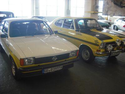 Siegertypen: Kadett C GT/E und Kadett B Rallye. Beide mit Heckantrieb!
