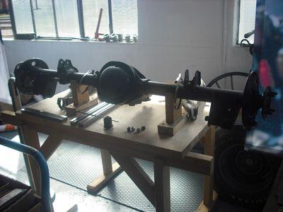 Werkstattsache: Alle Fahrzeugkomponenten werden in den eigenen Hallen instandgesetzt