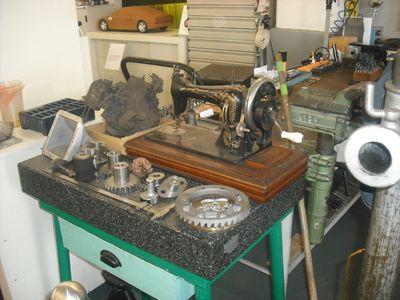Räderwerk: Auch kompliziertere Teile können nachgefertigt werden und Azubis sind immer willkommen