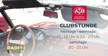 AvC Clubstunde: samstags 20:00-21:00 Uhr