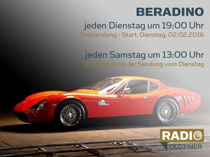 BERADINO - Ein Junge und sein Auto-Traum: jeden Dienstag um 19:00 Uhr, Wiederholung jeden Samstag um 13:00 Uhr